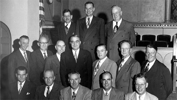 UGM's first Board of Directors