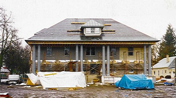 Anna Ogden Hall undergoing renovations