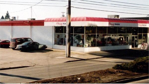 The first UGM Thrift Store, originally called Classy Rack