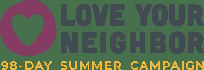 Love your neighbor campaign logo