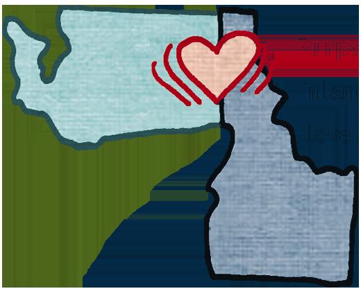 Inland Northwest Map