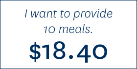 I want to provide 10 meals. $18.40