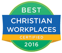 Best Christian Workplaces Certified 2016